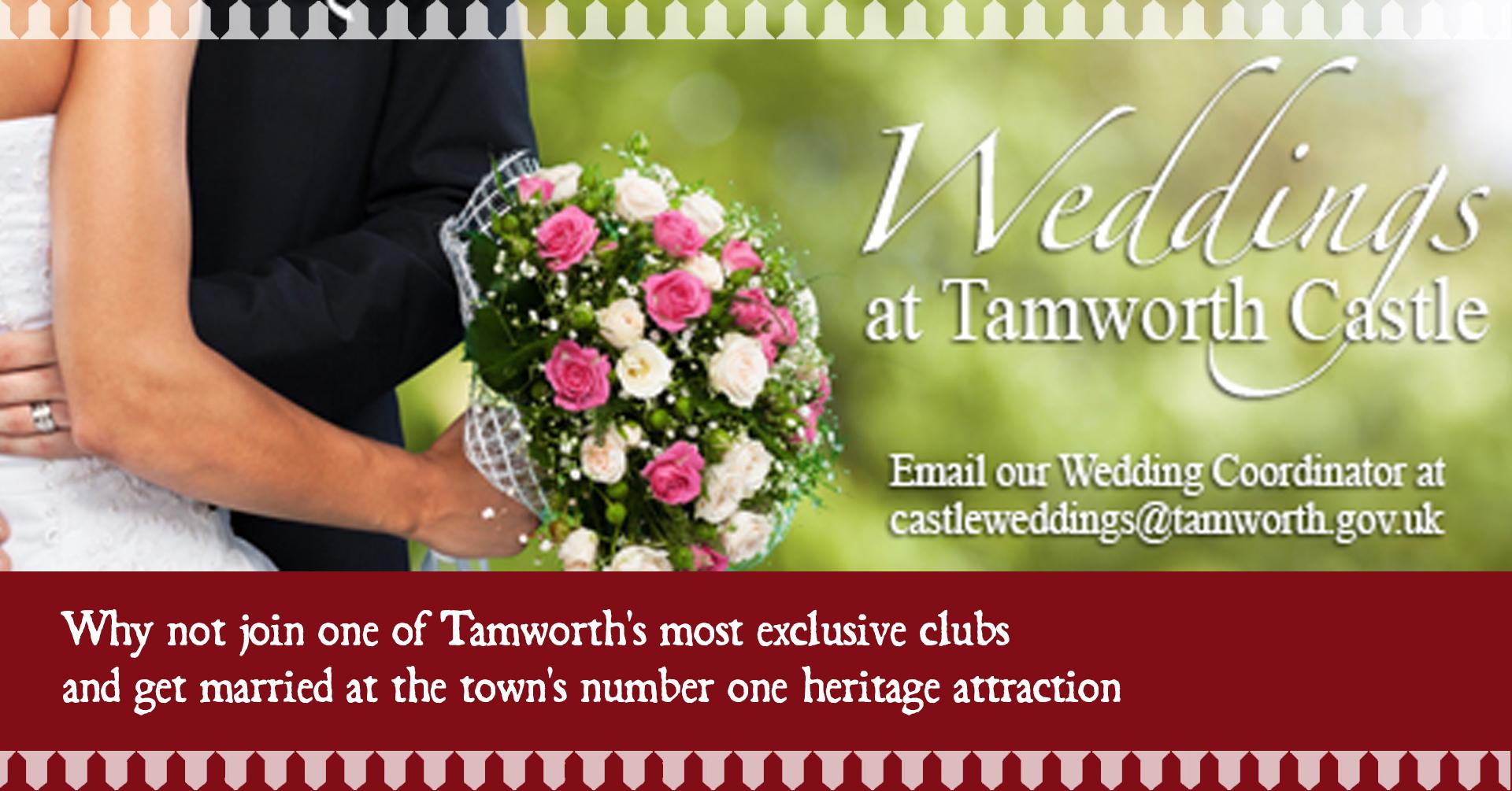 Weddings at Tamworth Castle