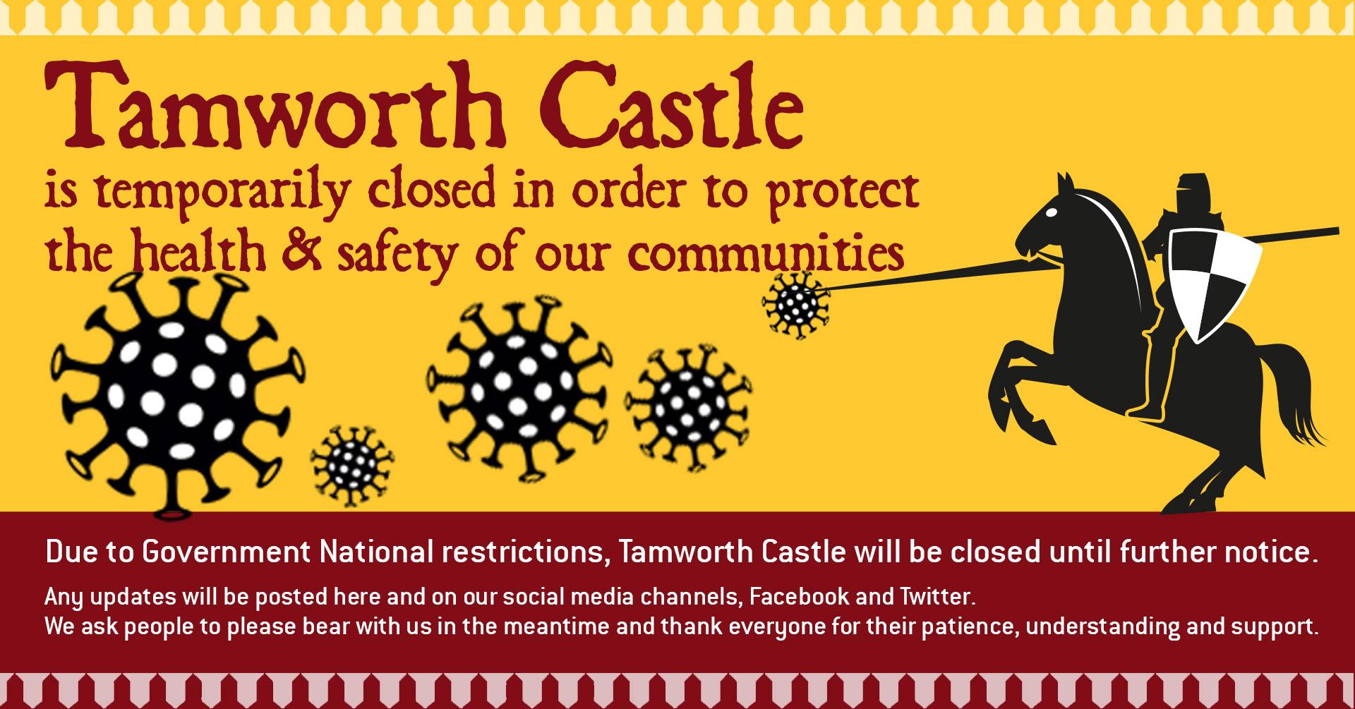 Castle closed due to Covid